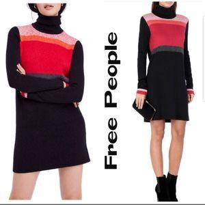 Free People Winter Break Sweater Dress NWOT! XXS